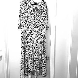 Lane Bryant NWT faux wrap dress